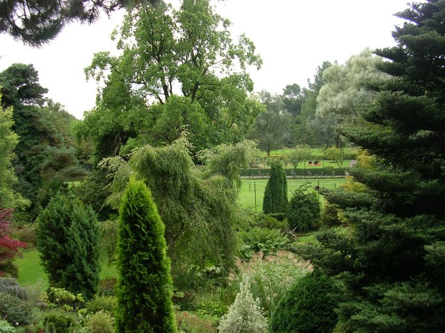 Rockery and Tennis Courts